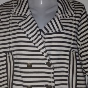 NWOT Free People Striped Jacket